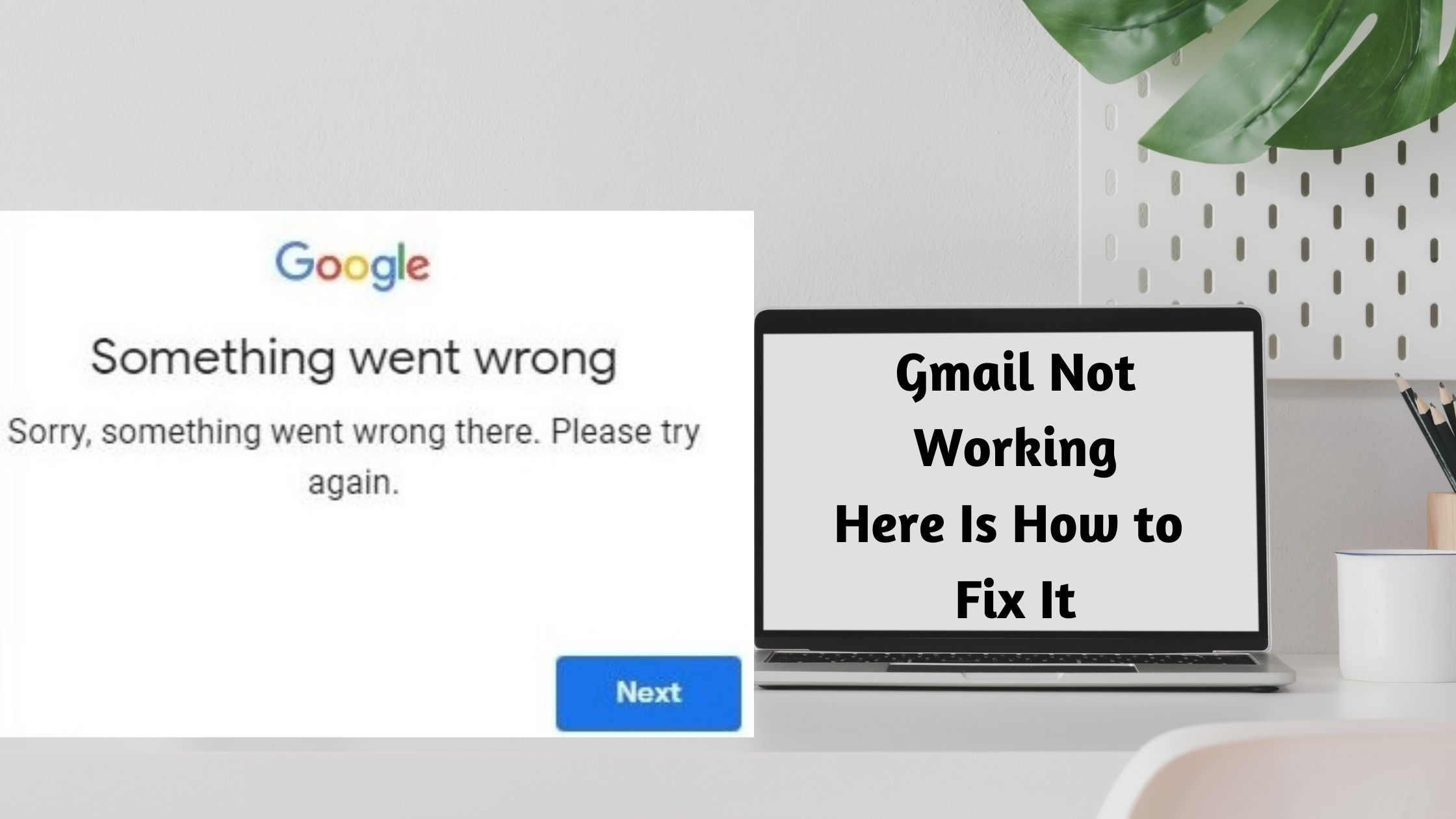 Fix Gmail Not Working